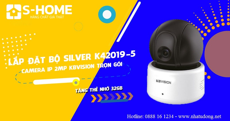 Bộ camera IP Wifi Kbvision