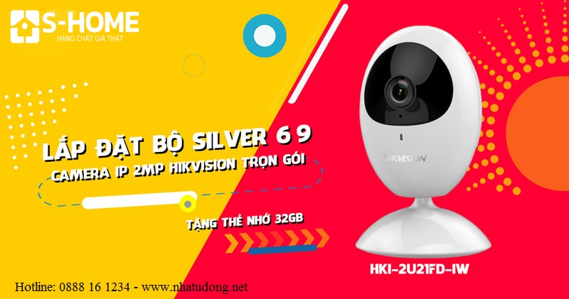 Bộ camera IP Wifi Hikvision