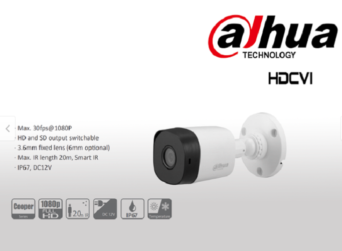 camera dahua hd cvi